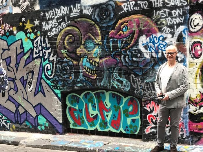 Bertrand Duchaufour, Melbourne laneway street art