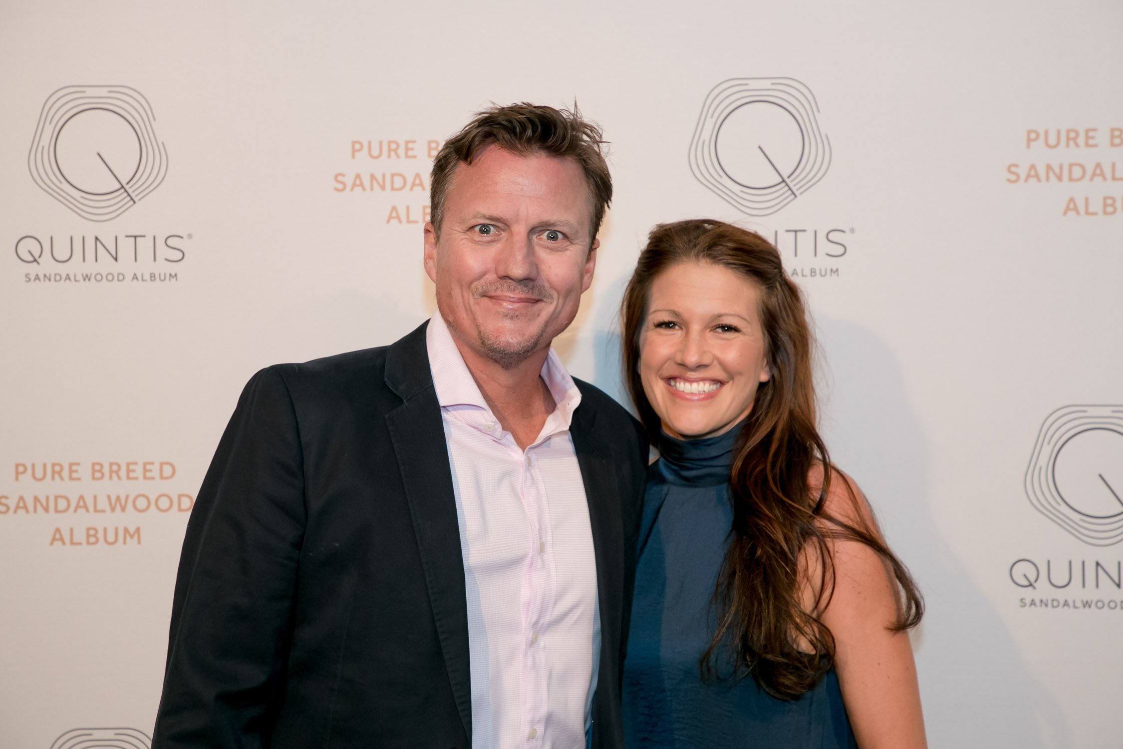 James Brayshaw at Quintis launch event